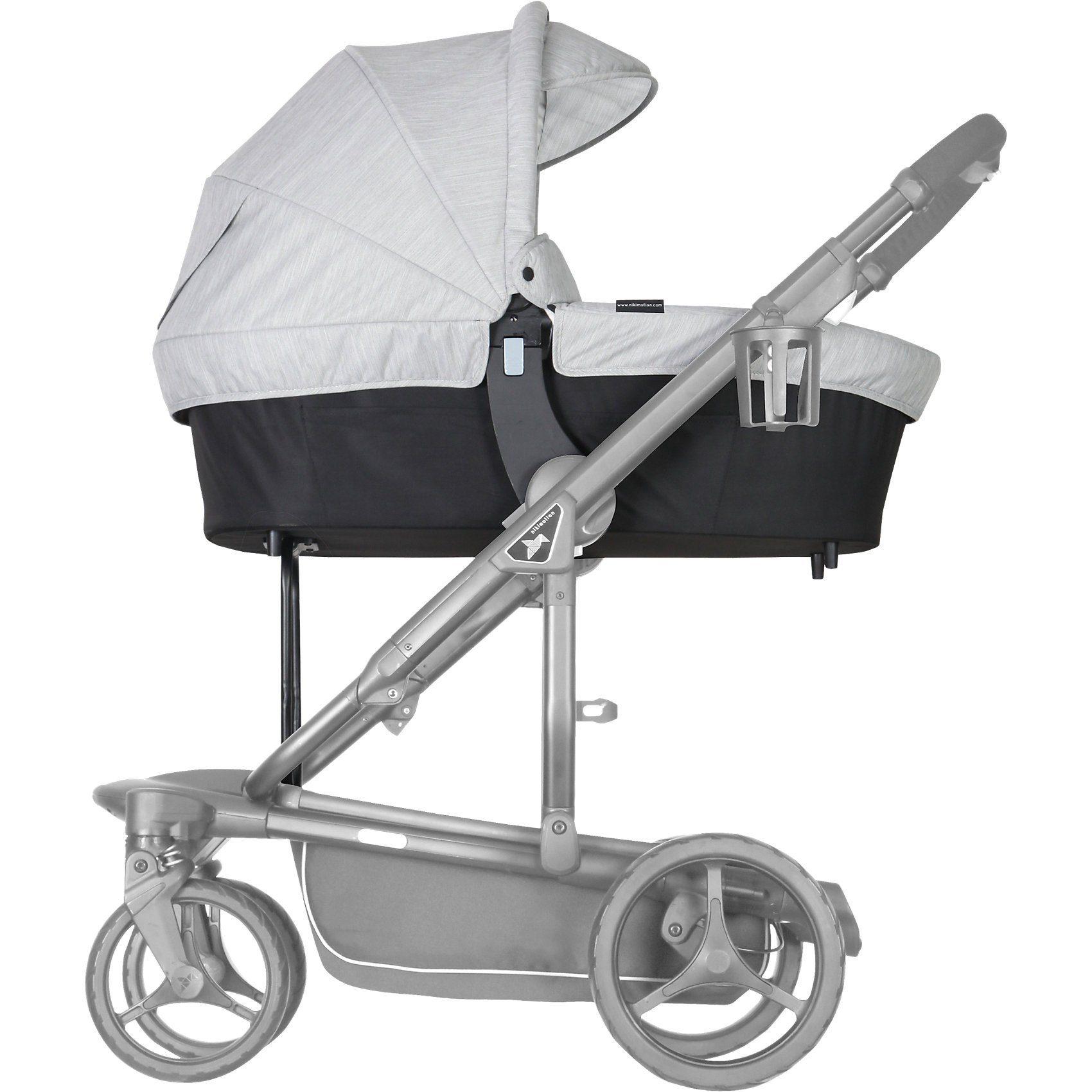 nikimotion Kinderwagenaufsatz für Sportwagen Blade, oyster