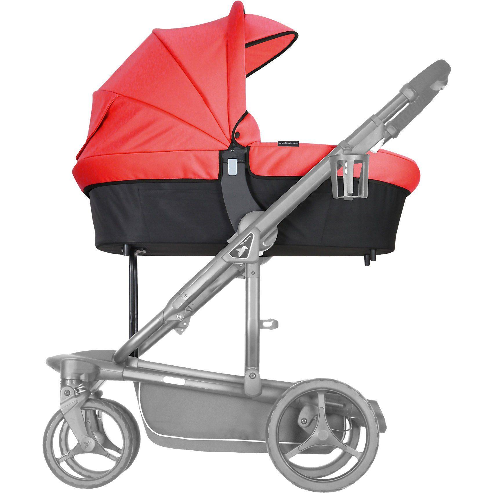 nikimotion Kinderwagenaufsatz für Sportwagen Blade, scarlett
