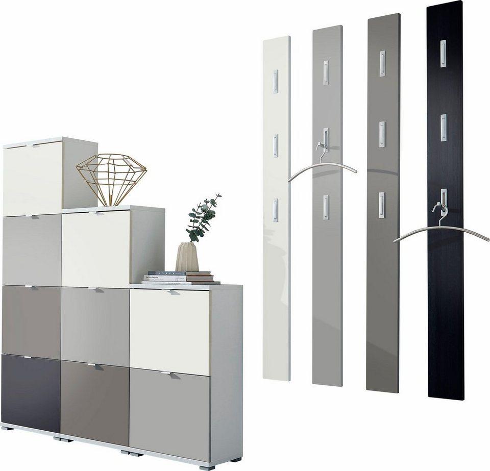 germania garderoben set colorado 16 tlg otto. Black Bedroom Furniture Sets. Home Design Ideas