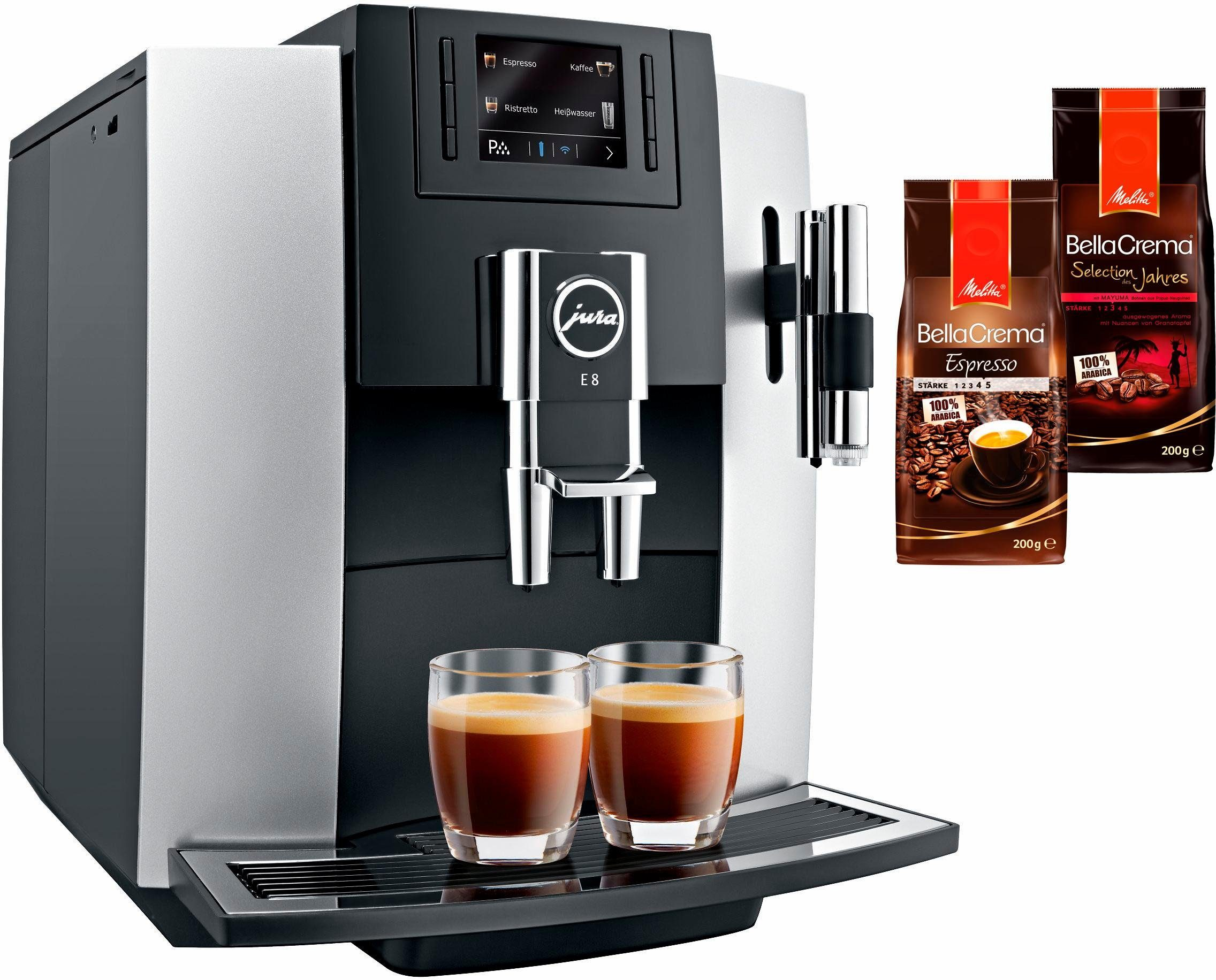 Jura Kaffeevollautomat 15084 E8, Kegelmahlwerk
