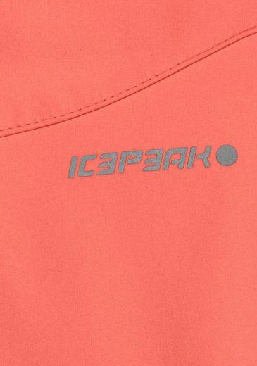 Icepeak Softshelljacke VIIRA, aus wasser- & winddichtem Obermaterial