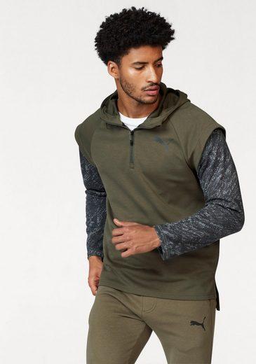PUMA Sweatshirt 1/4 ZIP ENERGY HOODIE