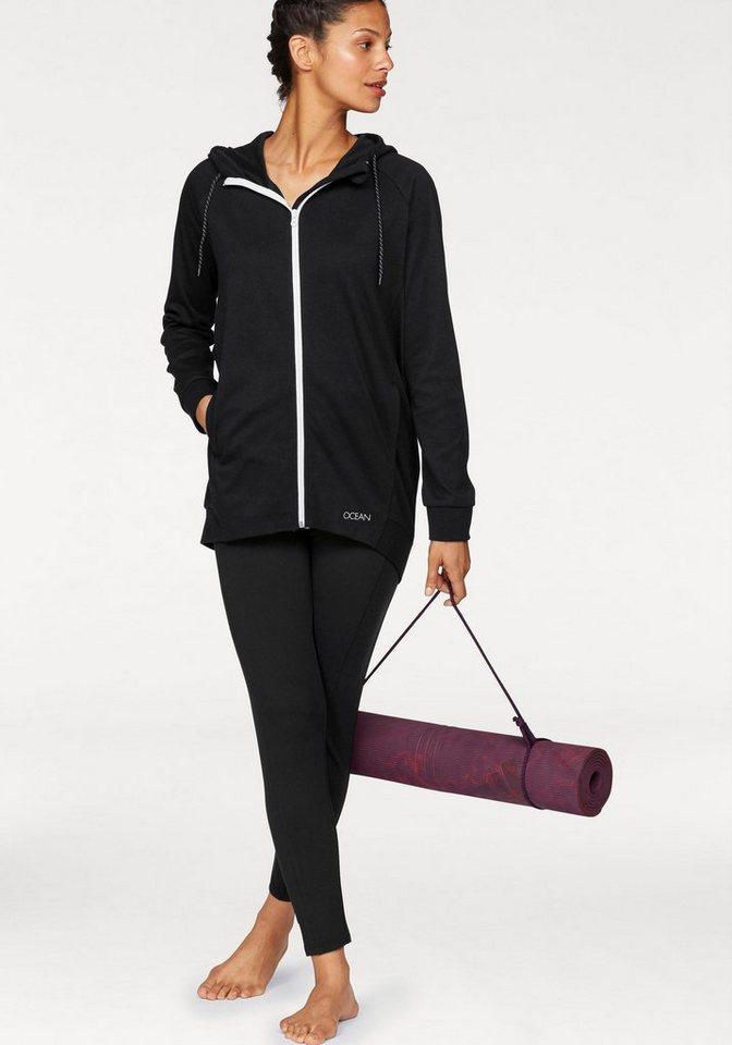 ocean sportswear jogginganzug jacke in modischer eggshape. Black Bedroom Furniture Sets. Home Design Ideas