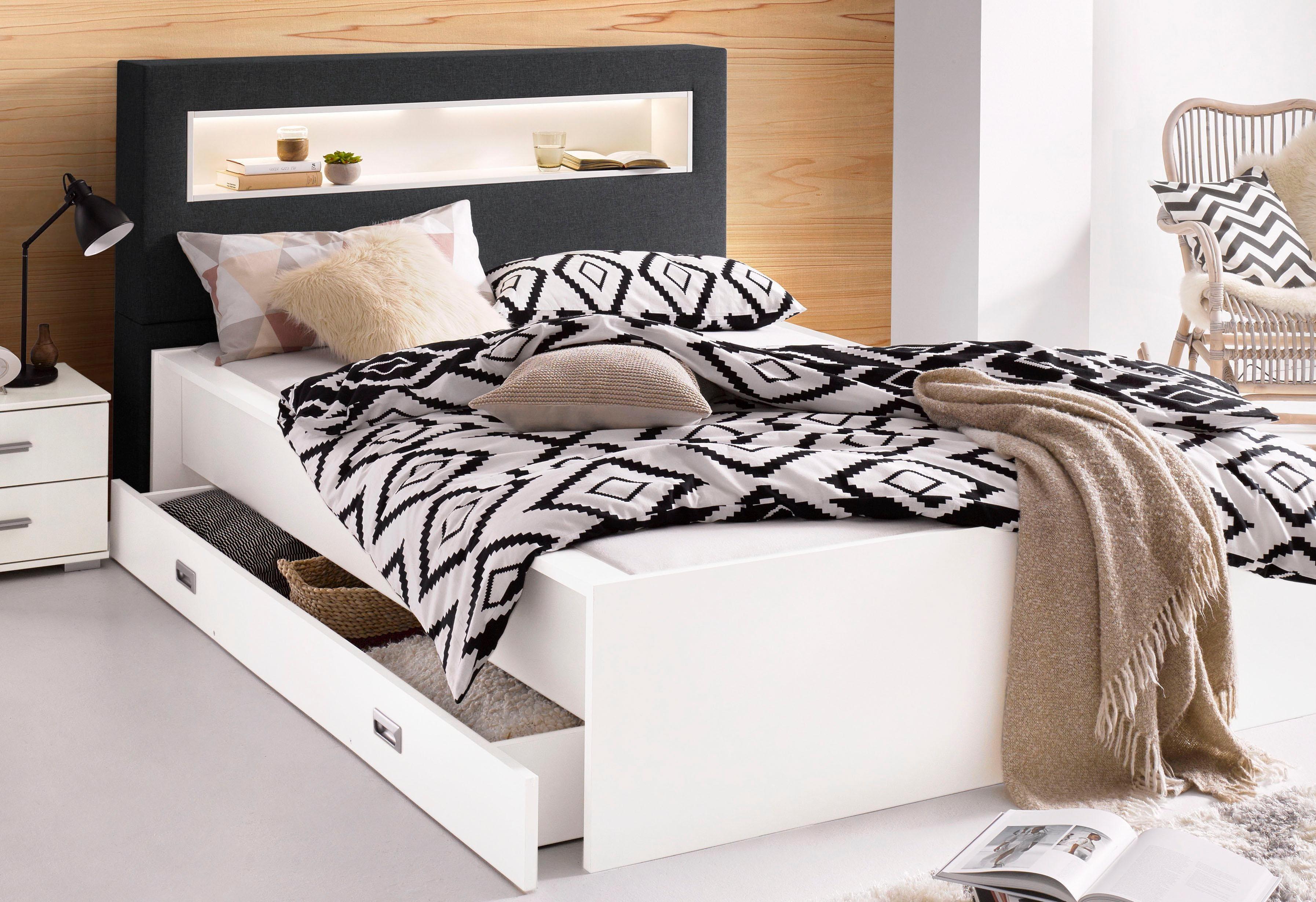 Breckle Futonbett | Schlafzimmer > Betten > Futonbetten | Federn - Strukturstoff | Breckle
