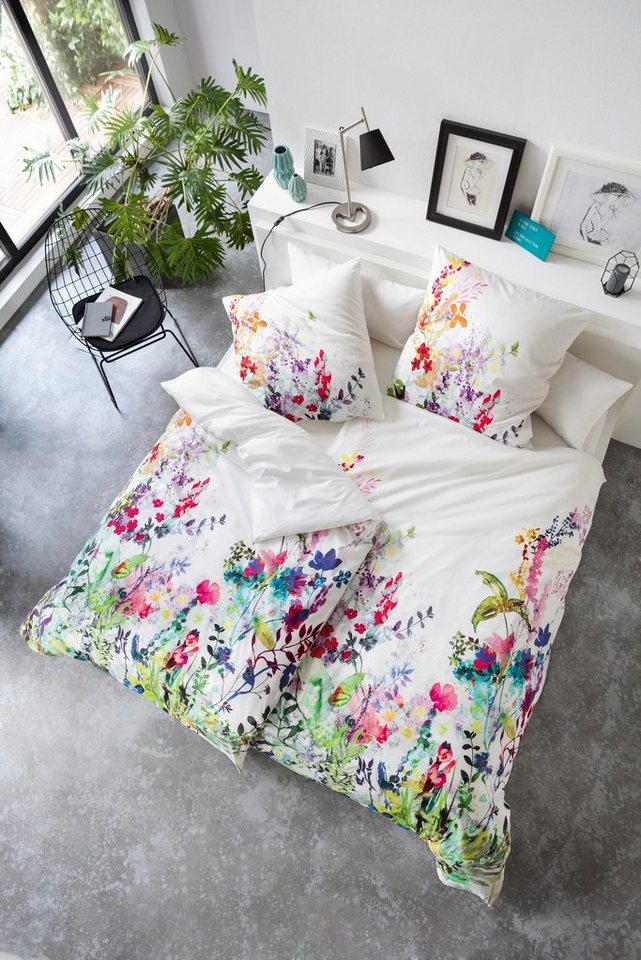 bettw sche estella athina mit floralen muster otto. Black Bedroom Furniture Sets. Home Design Ideas