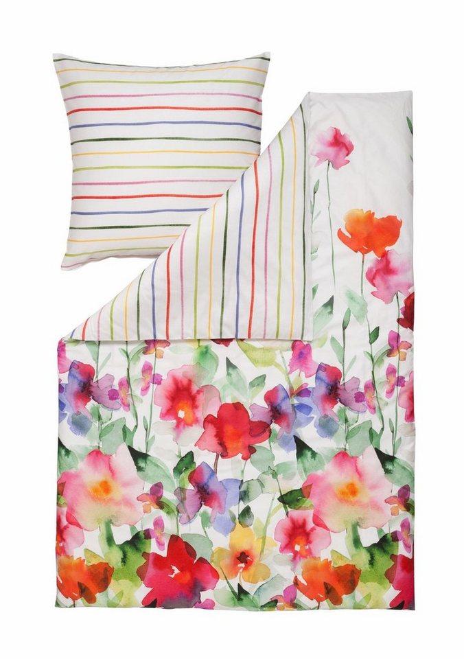 bettw sche estella aquarell im aquarellen bl ten design online kaufen otto. Black Bedroom Furniture Sets. Home Design Ideas