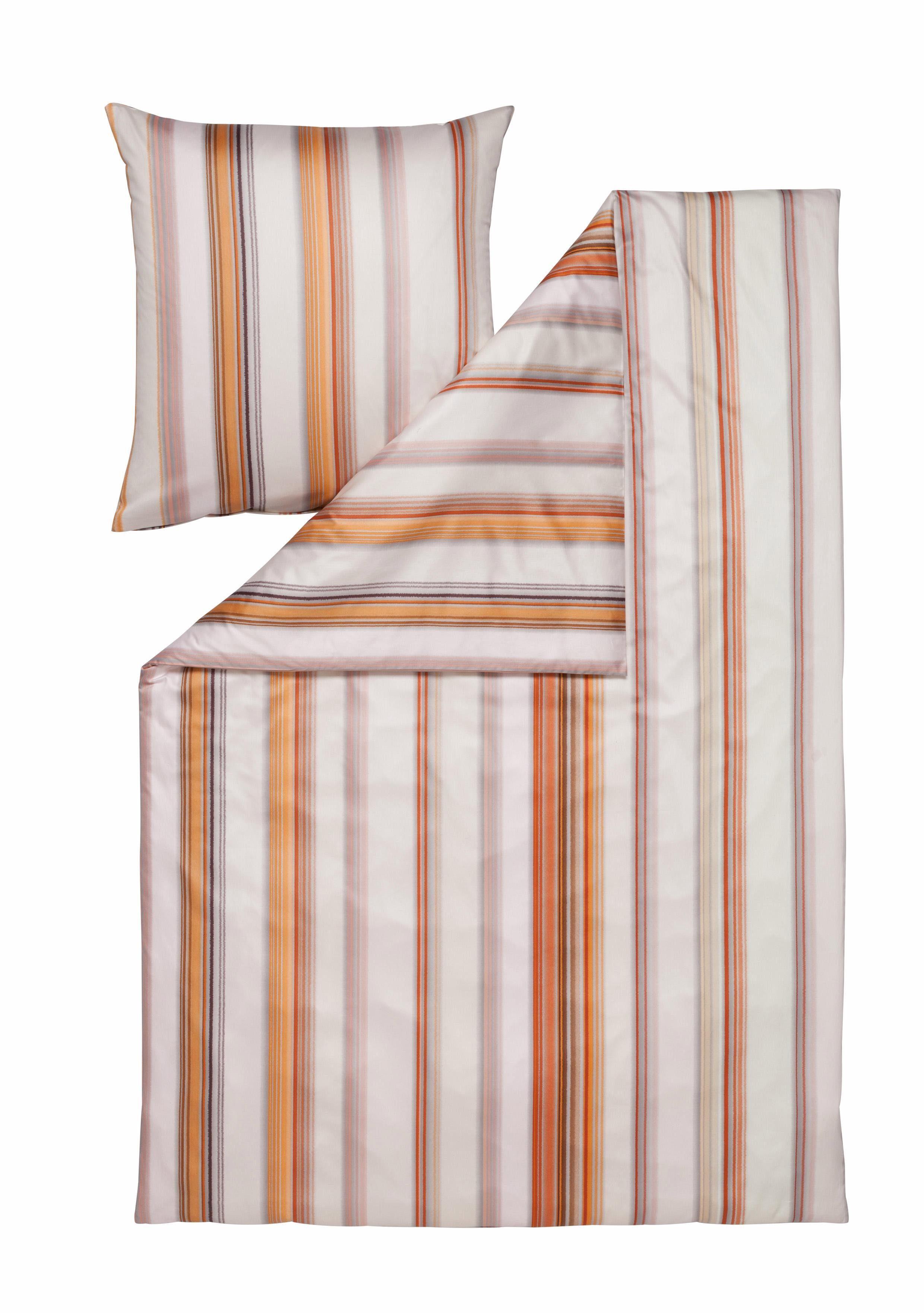 Bettwäsche »Ivano«, Estella, mit farblichen Streifen