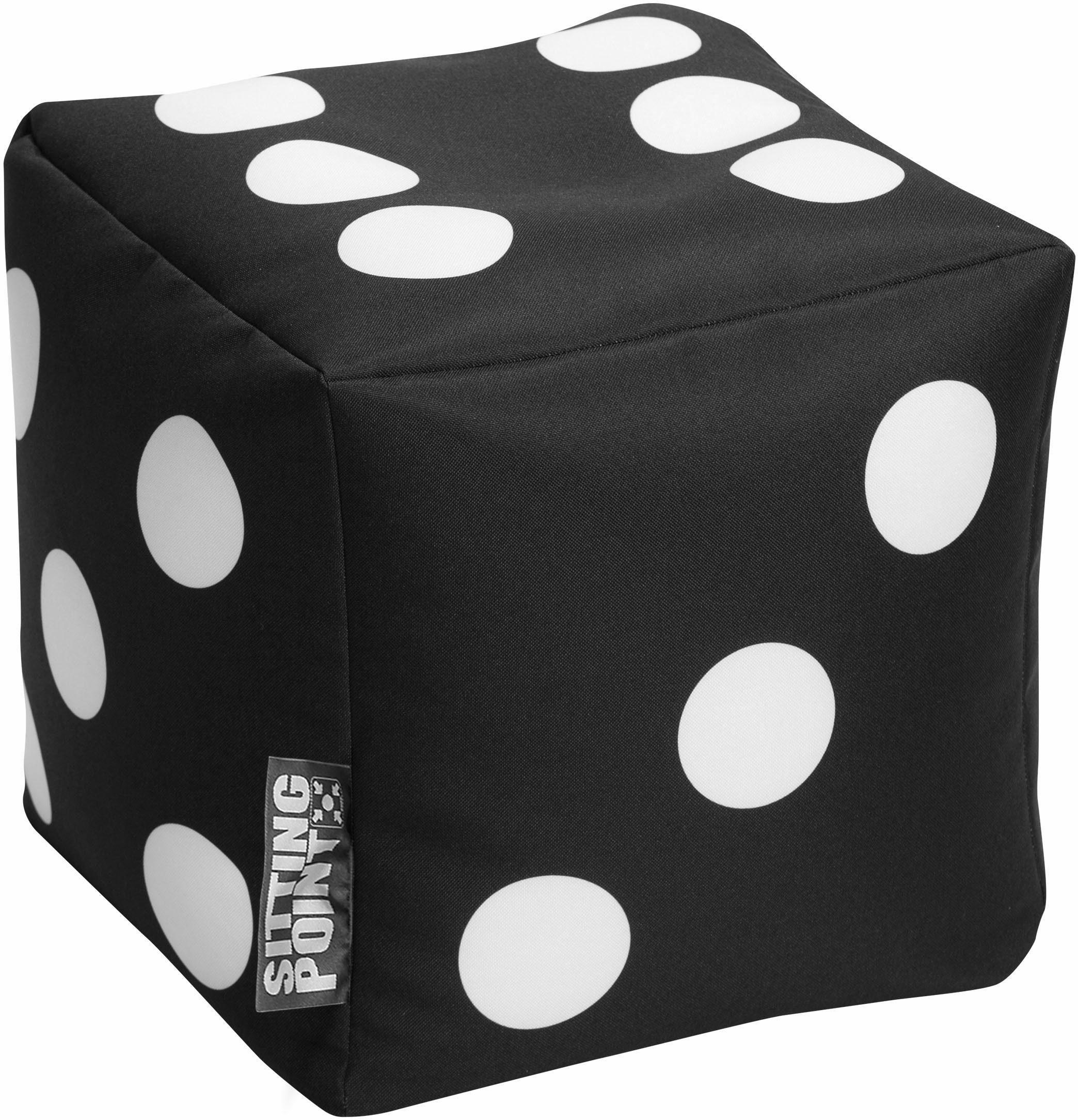 Sitting Point Sitzwürfel »Cube Spielwürfel«, Digitaldruck