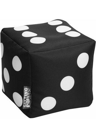 SITTING POINT Minkšta kojų kėdutė »Cube Spielwürfel«...