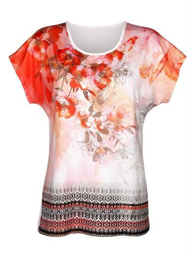 Paola Shirt mit überschnittenen Ärmeln