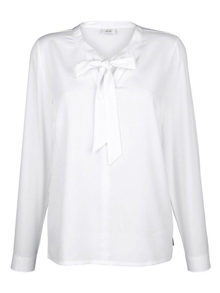 paola bluse mit schluppe online kaufen otto. Black Bedroom Furniture Sets. Home Design Ideas