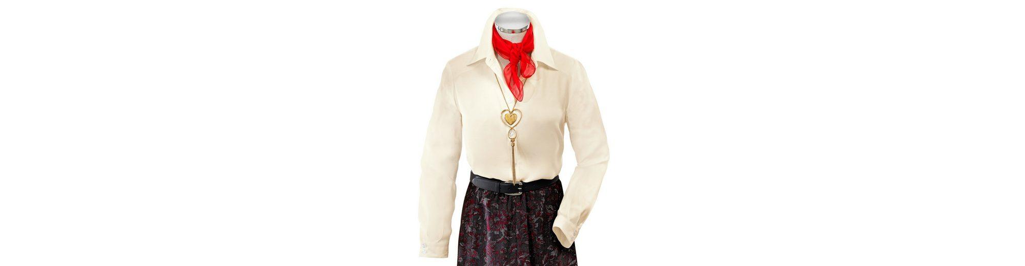Mona Bluse aus reiner Viskose Wählen Sie Einen Besten Günstigen Preis tx4uBL63