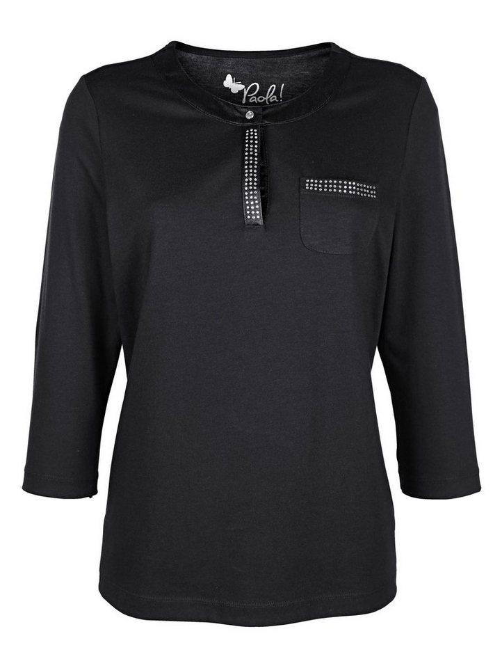 paola shirt mit strasssteinen online kaufen otto. Black Bedroom Furniture Sets. Home Design Ideas
