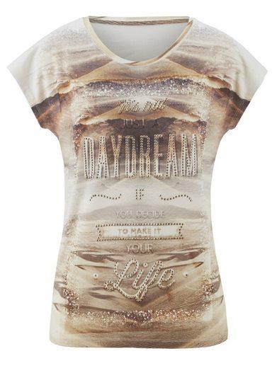 Laura Kent Shirt im modischen Druck-Dessin