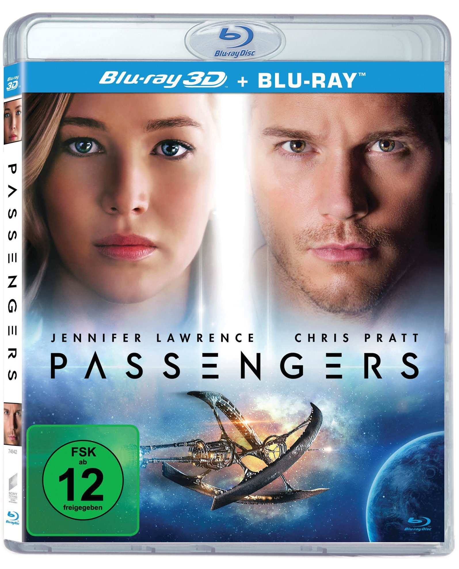 Sony Pictures Blu-ray »Passengers - 3D Version«