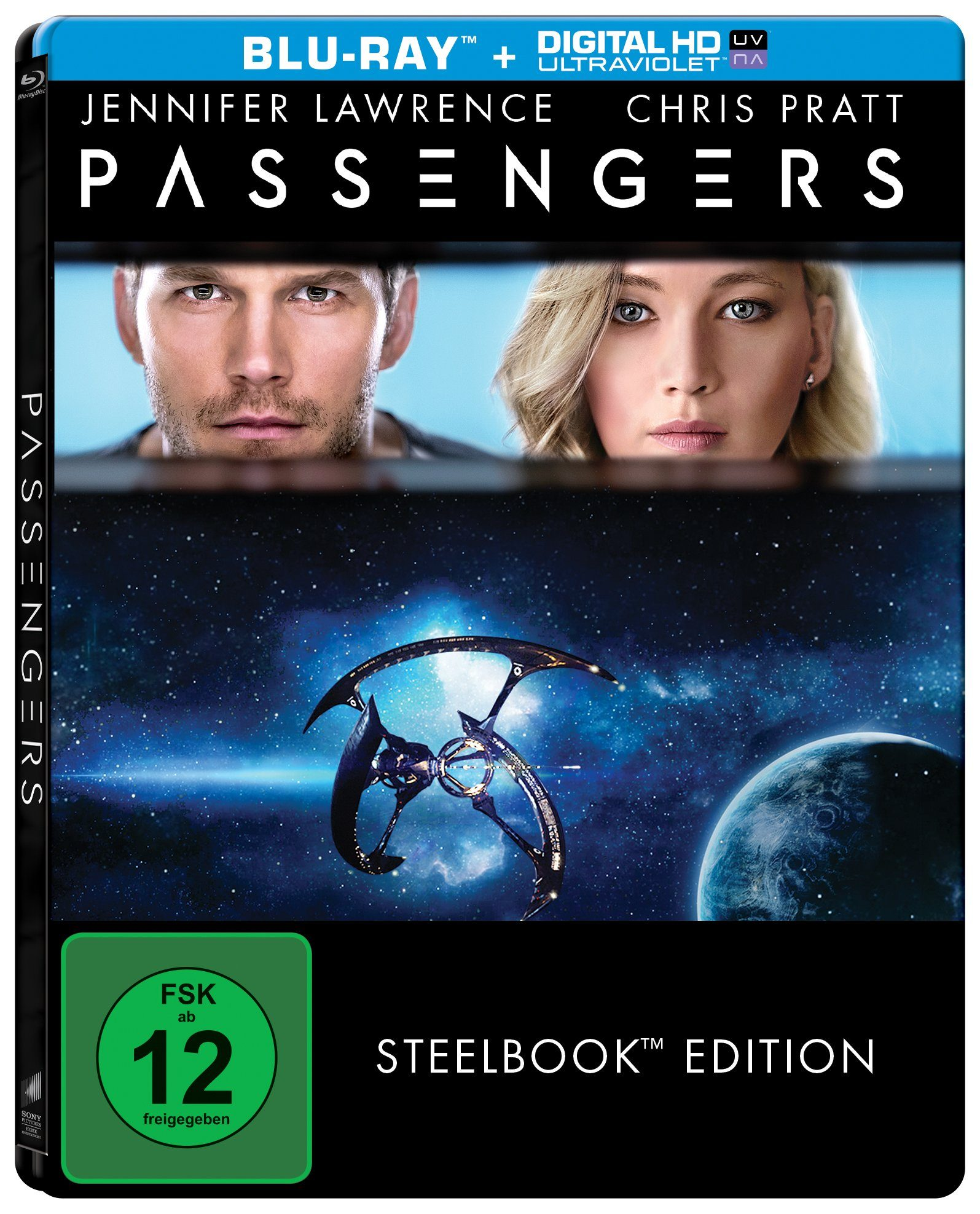 Sony Pictures Blu-ray »Passengers - Steelbook Edition«