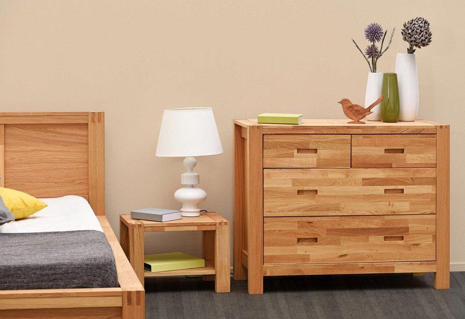 home affaire kommode ethan mit 4 schubladen breite 106 cm online kaufen otto. Black Bedroom Furniture Sets. Home Design Ideas