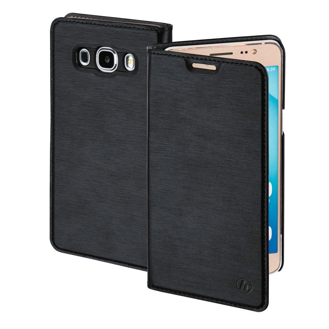 Hama Booklet Slim für Samsung Galaxy J7 (2016), Schwarz