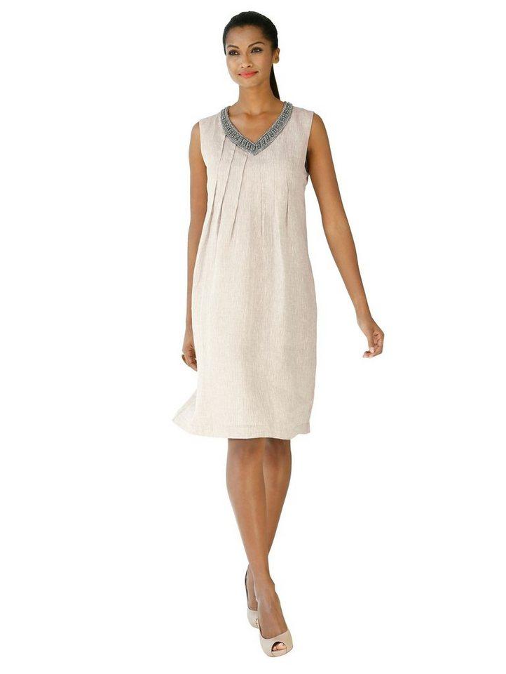 Alba Moda Sommerkleid aus reiner Leinen-Qualität   OTTO
