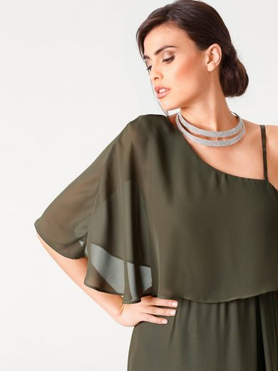 ASHLEY BROOKE by Heine Abendkleid One-Shoulder