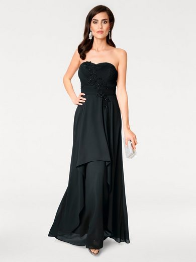 ASHLEY BROOKE by Heine Abendkleid Applikationen