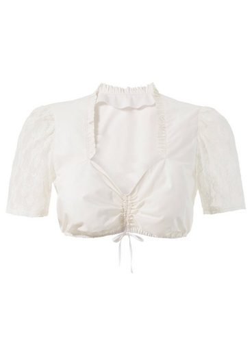 Love Nature Dirndl Blouse With Heart-shaped Cutout Shape