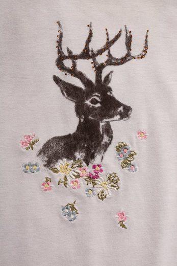 Country Line Trachtenshirt Damen Im Lässigen Used Look