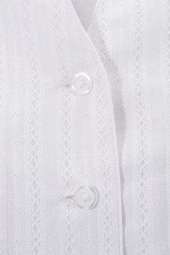 Hohenstaufen Trachtenbluse Damen mit leicht transparenter Optik