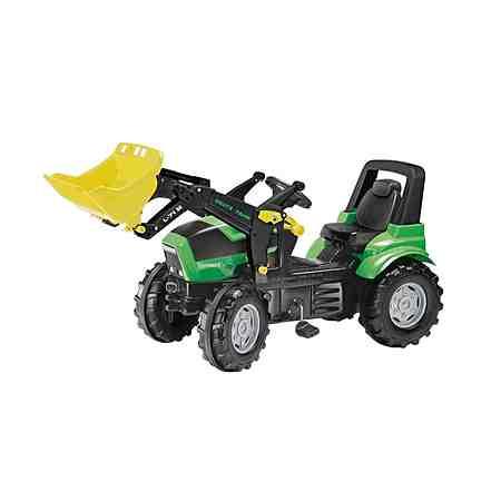 rolly toys® Trettraktor mit Frontlader »rollyFarmtrac Deutz Agrotron X 720«