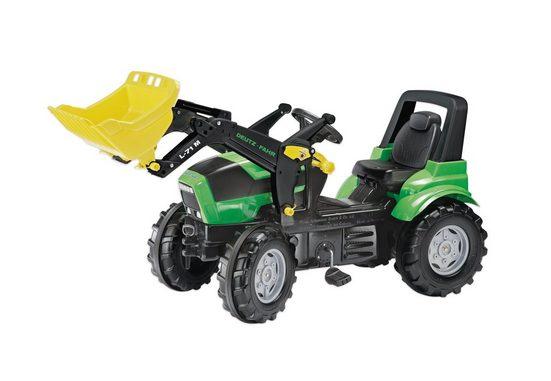 rolly toys® Trettraktor »rollyFarmtrac Deutz Agrotron X 720«, mit Frontlader