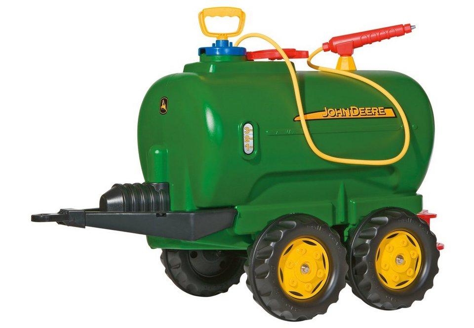 rolly toys® Fassanhänger mit Wasserhahn und Spritze »rollyTanker John Deere« in grün-gelb