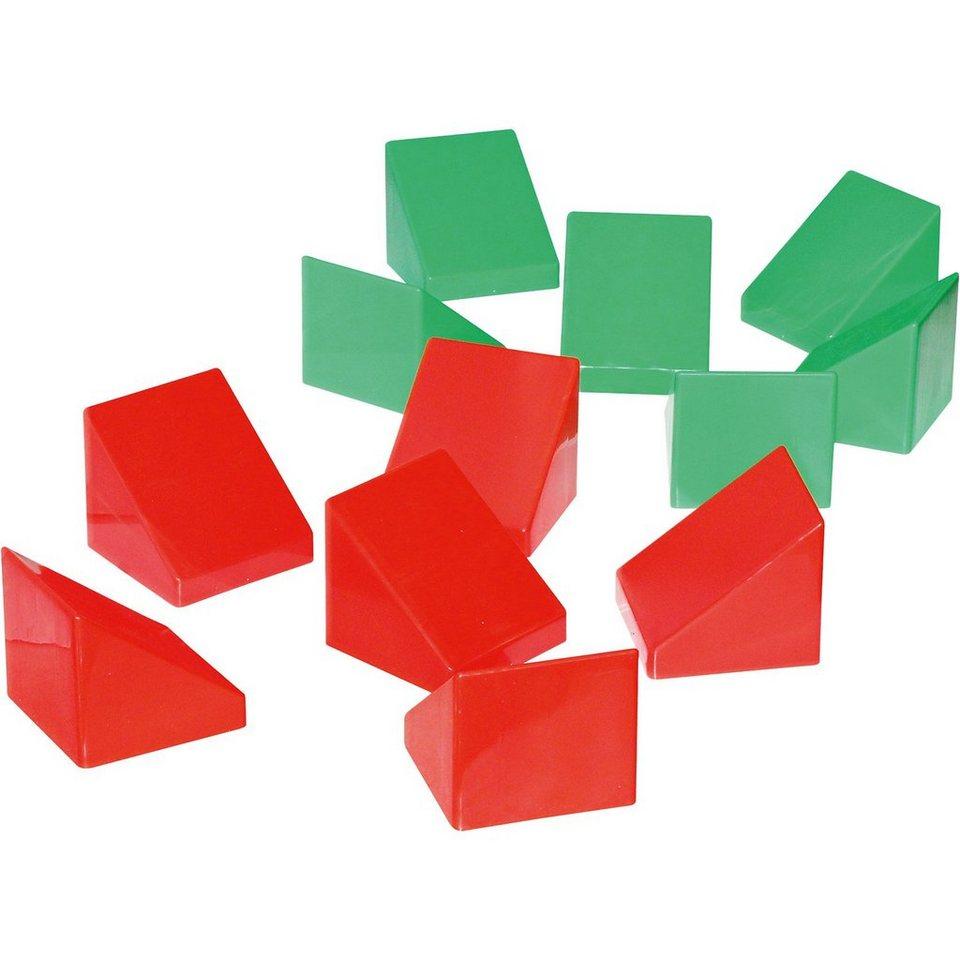 wader quality toys xxl-bausteine dachschrägen 12 stück online kaufen