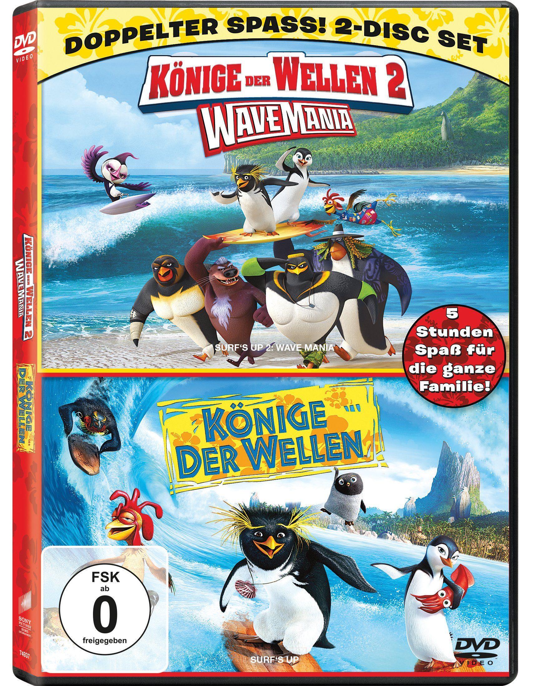 Sony Pictures DVD »Könige der Wellen 1 + 2«