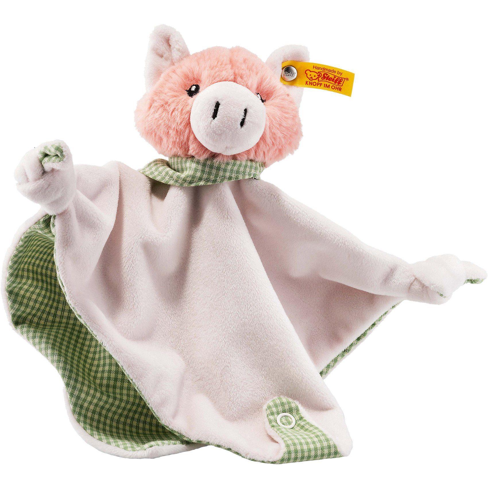 Steiff Schwein Piggilee Schmusetuch, rosa