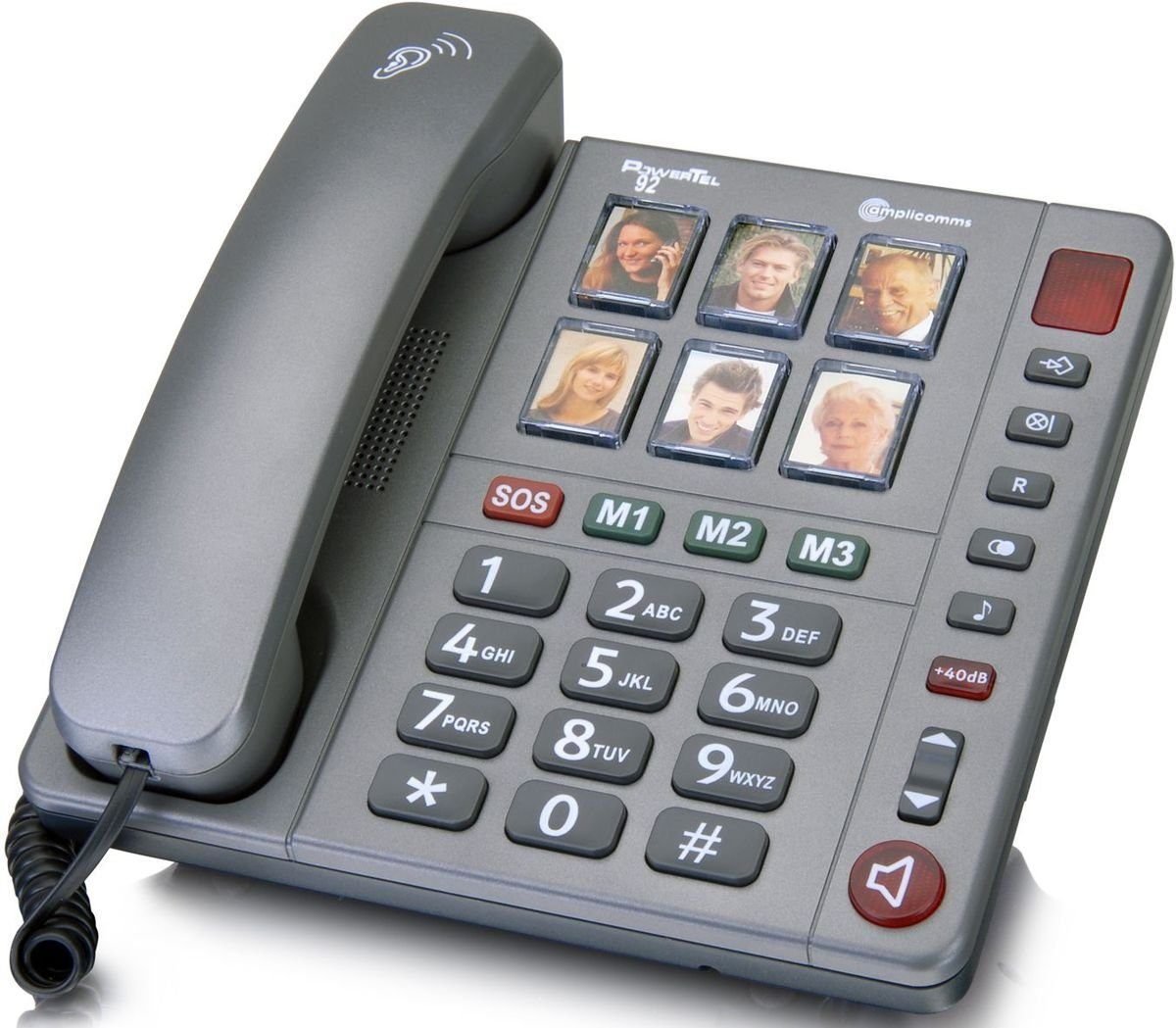amplicomms Großtastentelefon »PowerTel 92«