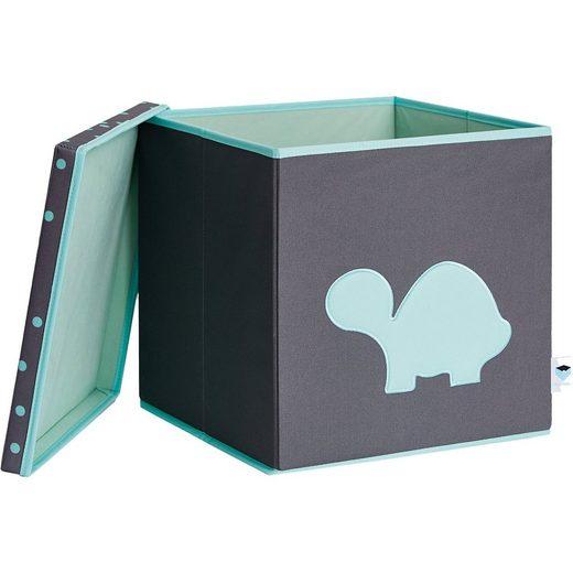 STORE IT! Spielzeugkiste mit Deckel mit MDF, Schildkröte