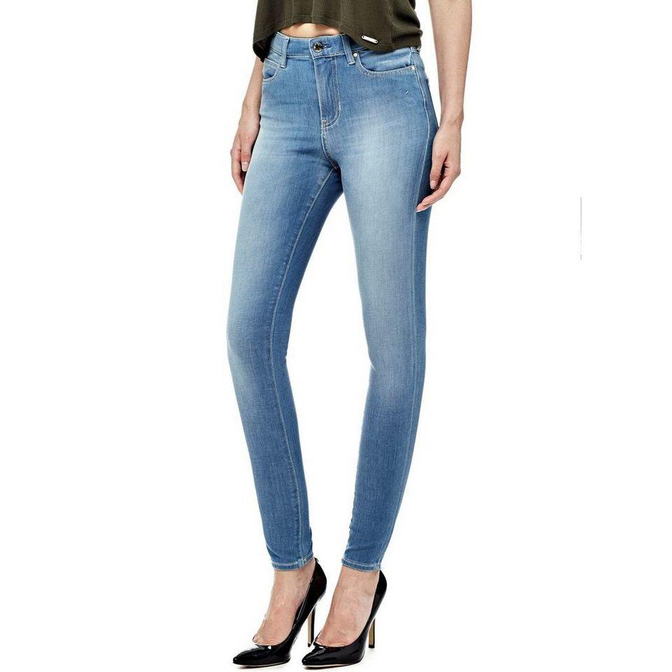 guess jeans skinny hoher bund online kaufen otto. Black Bedroom Furniture Sets. Home Design Ideas