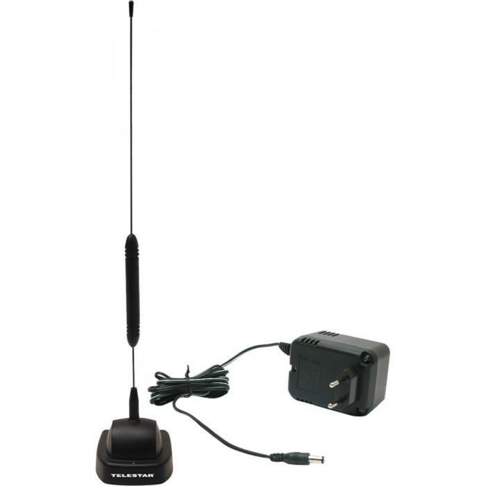 telestar dvb t2 hd stab antenne mit verst rker starflex. Black Bedroom Furniture Sets. Home Design Ideas