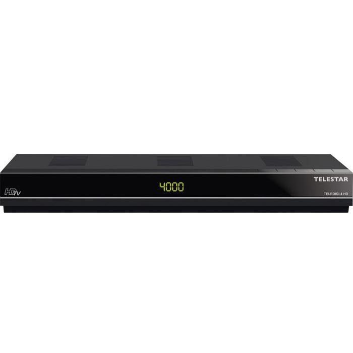 TELESTAR HDTV Satelliten-Receiver (HDMI ,PVR , USB, Scart, CI+) »TELEDIGI 4 HD«