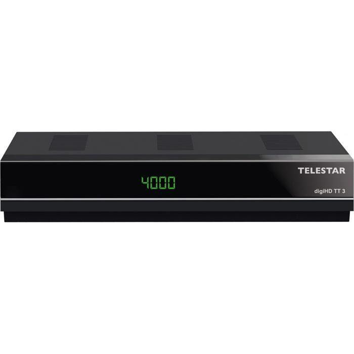 TELESTAR DVB-T2 HD FTA Receiver (HDMI, USB2.0, H.265/HEVC) »digiHD TT3«