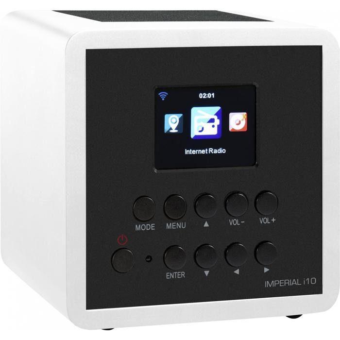 IMPERIAL Internetradio (USB, WLAN, TFT Farbdisplay) »i10«