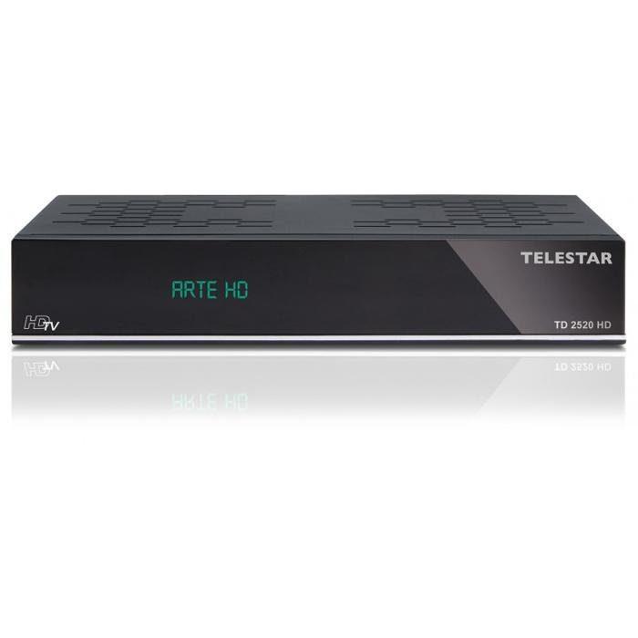 TELESTAR HDTV Satelliten-Receiver(HDMI,Aufnahmefunktion über USB, Scart) »TD 2520 HD«