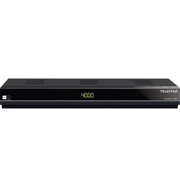 TELESTAR HDTV Satelliten-Receiver(HDMI,Aufnahmefunktion, USB, HD+ Karte) »TELEDIGI 4 HD+«