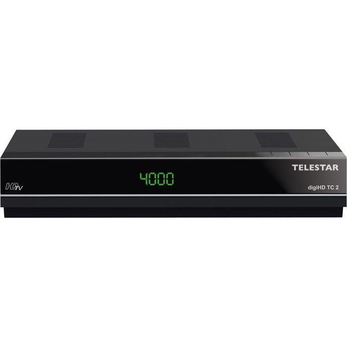 TELESTAR Digitaler HDTV Kabelreceiver (HDMI, USB, Aufnahmefunktion) »digiHD TC2«