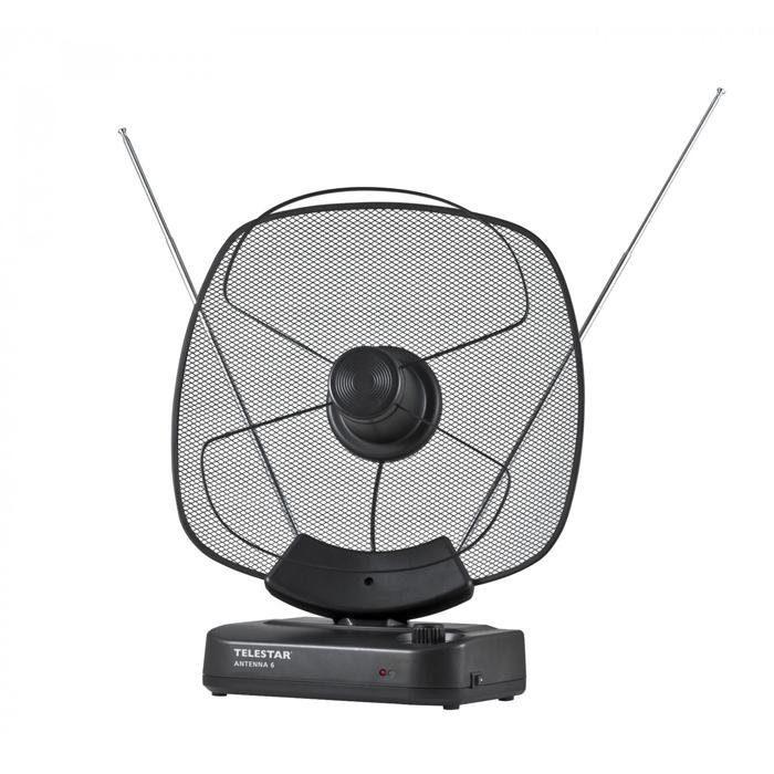 TELESTAR DVB-T2 HD Zimmerantenne mit Verstärker (LTE Filter) »ANTENNA 6 LTE«