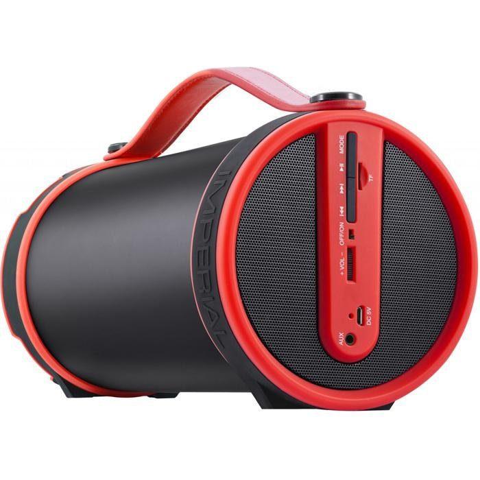 IMPERIAL mobiler Bluetooth 2.1 Lautsprecher, UKW Radio, MicroSD »BEATSMAN«