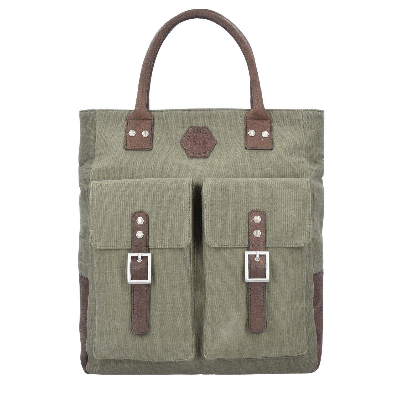 7760bf531c15a EPIC Naturals Shopper Tasche 40 cm Laptopfach