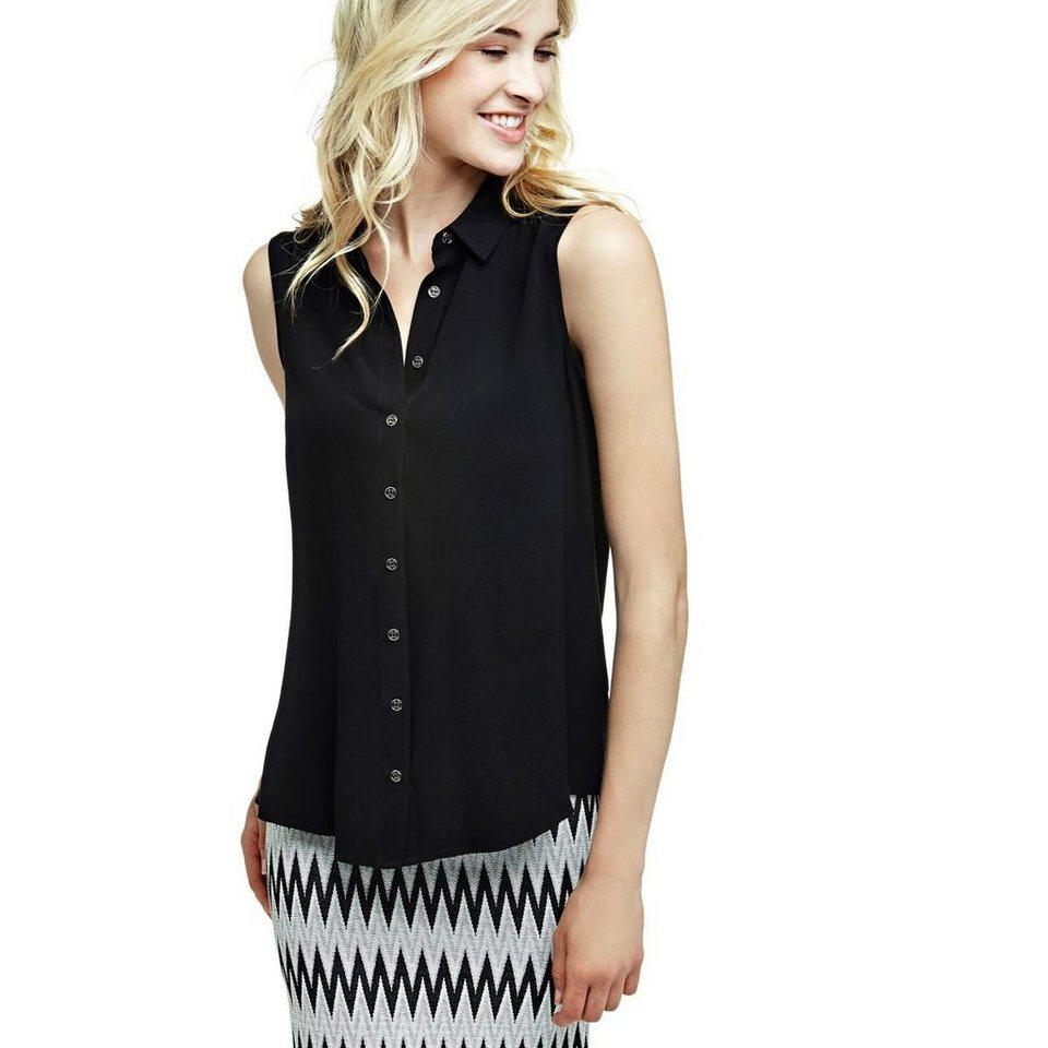 buy popular 6c634 d7c75 ONLY Damen Bluse Onlfirst SL Shirt Noos WVN, Schwarz (Black ...