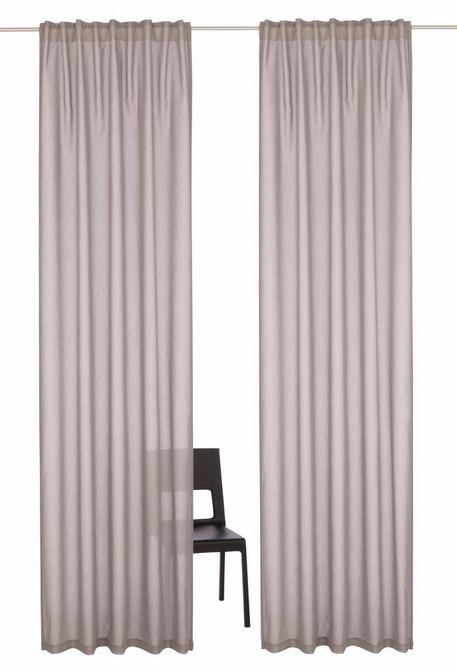 gardine naviv home affaire multifunktionsband 2 st ck online kaufen otto. Black Bedroom Furniture Sets. Home Design Ideas