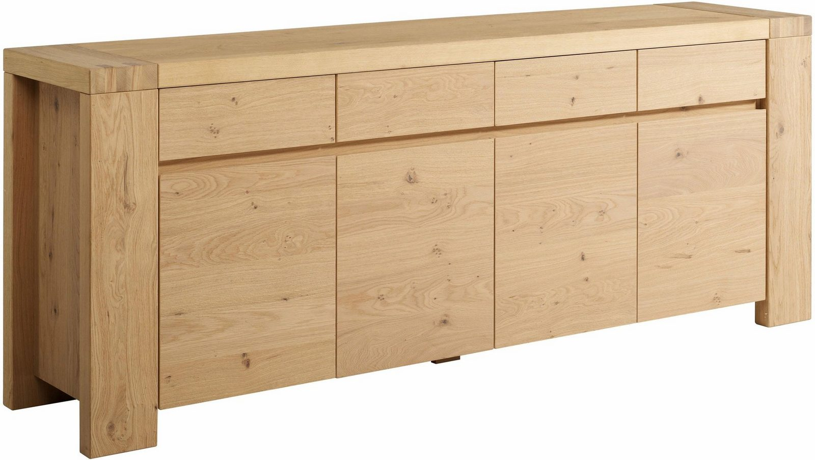 Home affaire Sideboard «Elina», Breite 225 cm - broschei